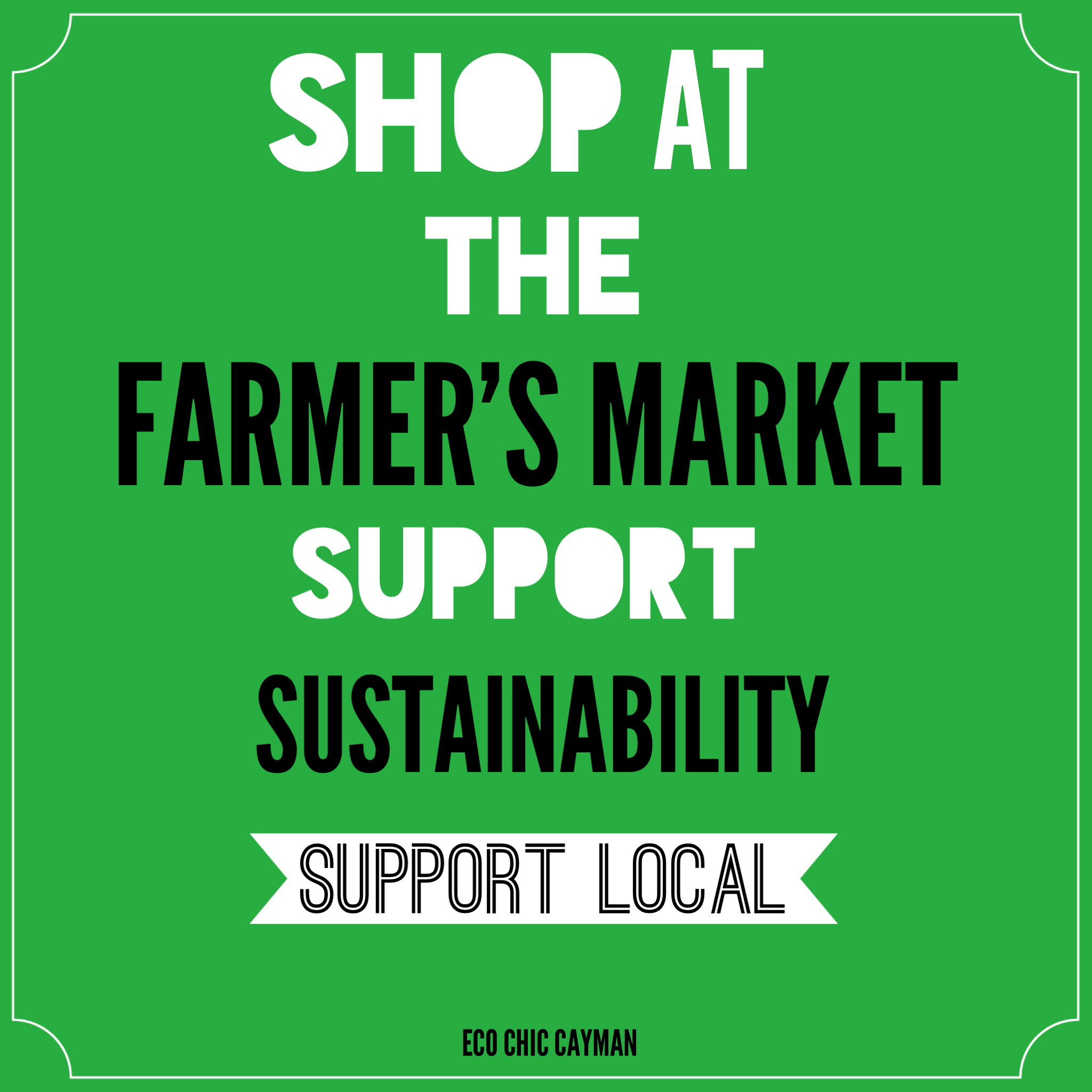 Sustainable Farmers Markets Farmers Market ad