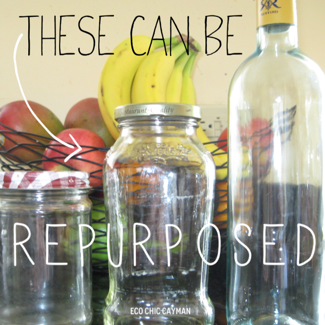 repurpose glass jars wine bottles the eco chic way