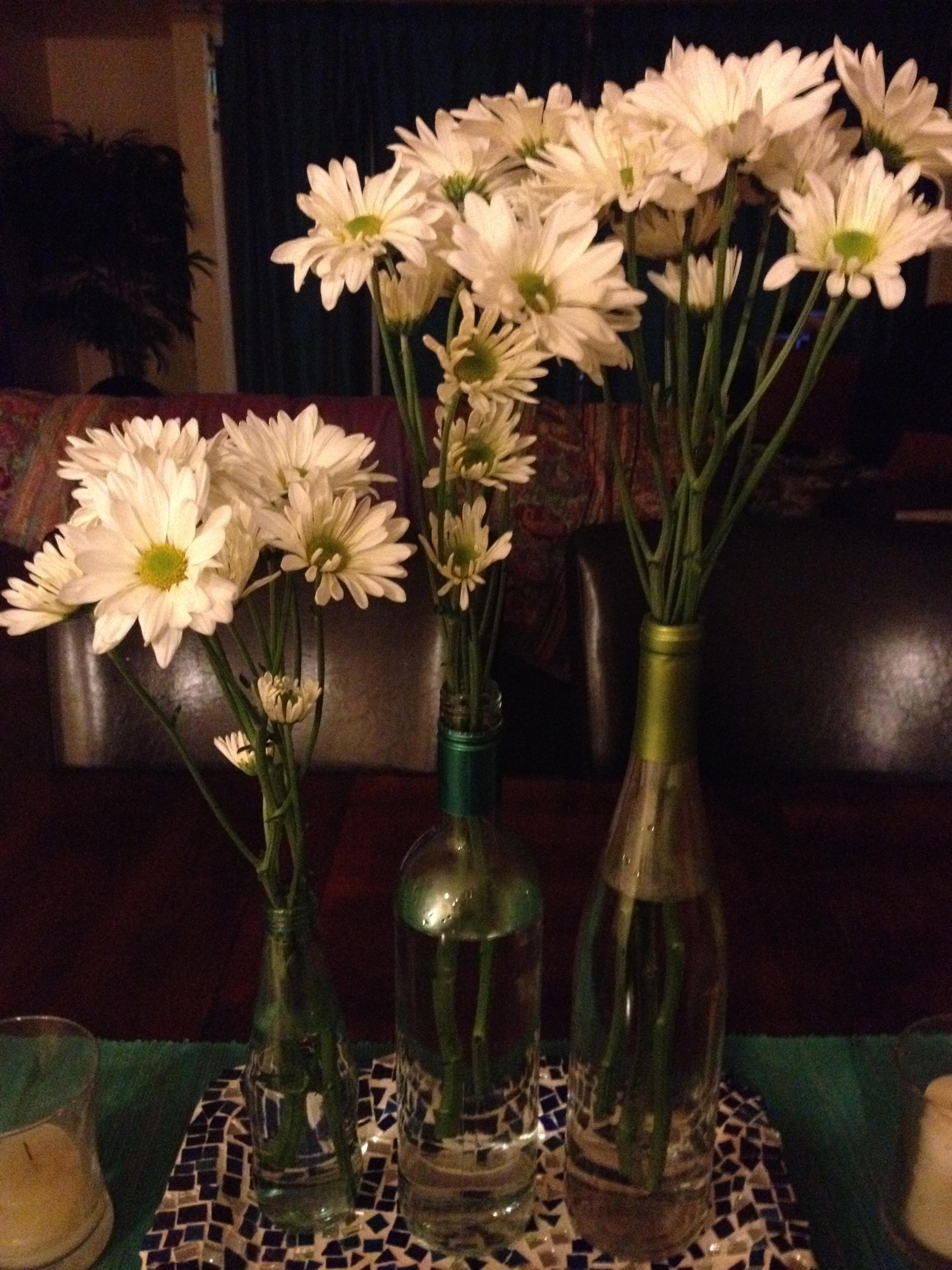 Sunday dinner wine bottle centerpiece wine bottle vases reviewsmspy