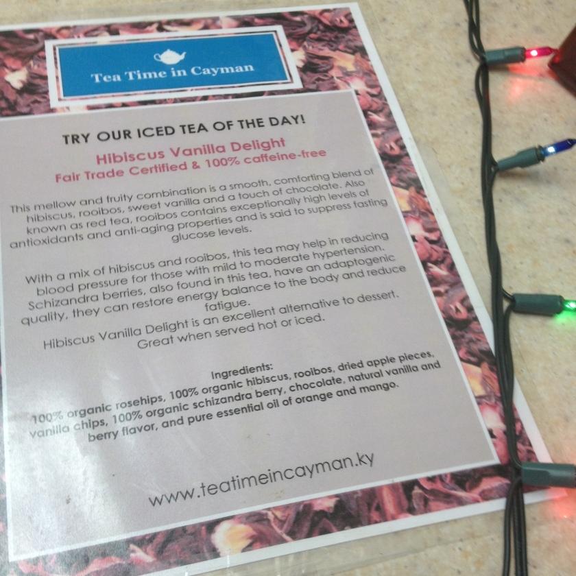 Hibiscus Vanilla Tea