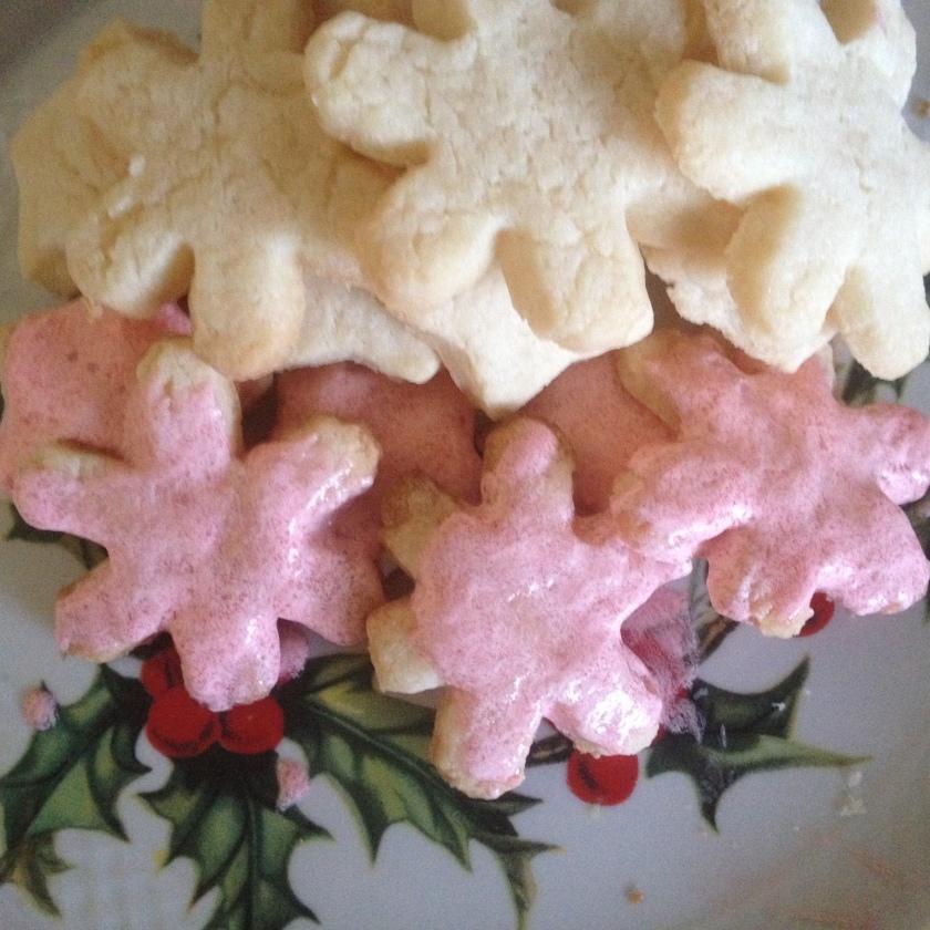Pink Champagne Sugar Cookies