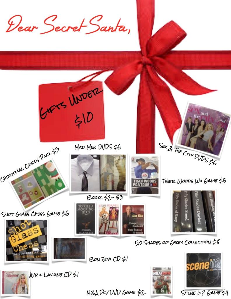Secret Santa Gifts Under $10 JPEG2