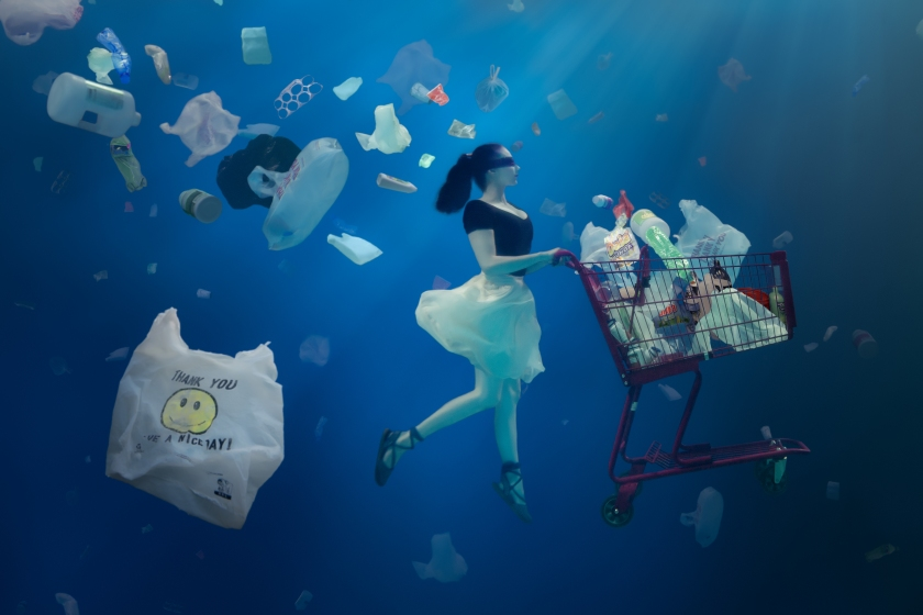Plastic Caught In Our Blind Spots